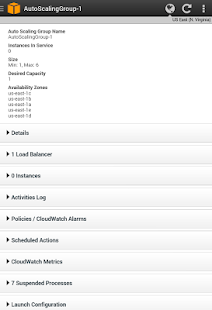 AWS Console - screenshot thumbnail