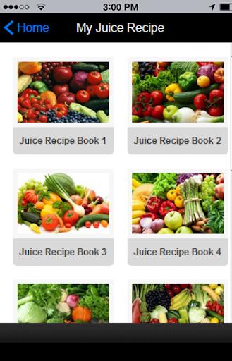 Juice Fasting Recipe FREE