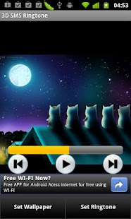 3D SMS Ringtone - screenshot thumbnail