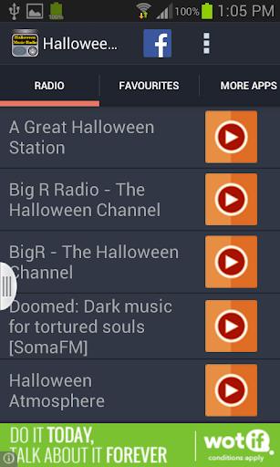 Halloween Music Radio