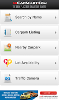 Screenshot of Carpark Rates