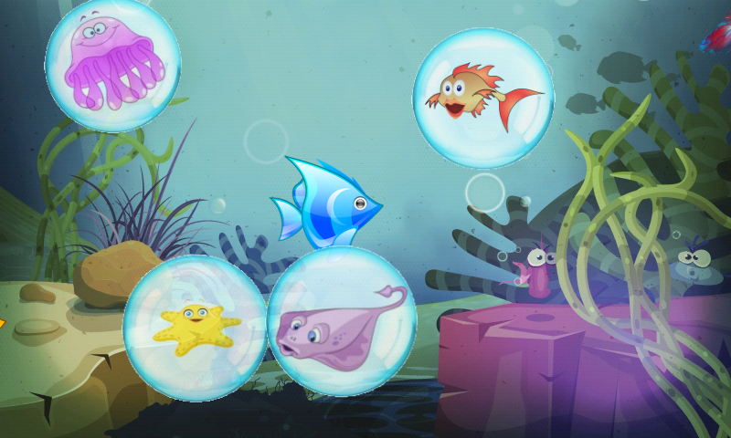 Fishes for toddlers FREE- screenshot