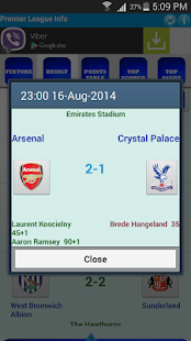 Premier League Info - screenshot thumbnail