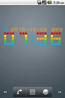Screenshot of Widget Clock_NDS202