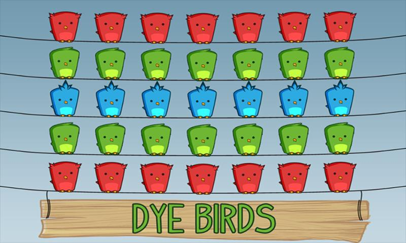 Dye Birds - screenshot