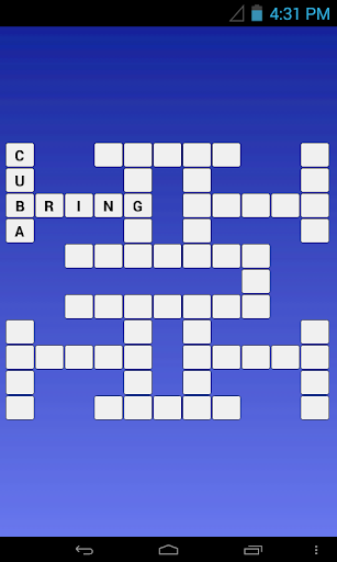 English - Finnish Crossword