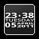 Bigger Clock Widget