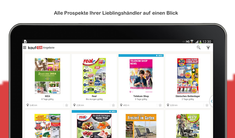 kaufda prospekte angebote android apps on google play. Black Bedroom Furniture Sets. Home Design Ideas