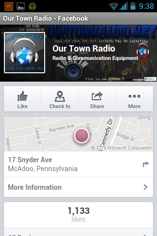 OUR TOWN RADIO - screenshot