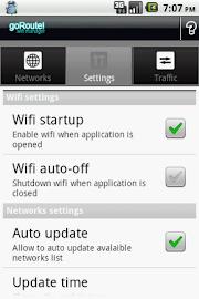 goRoute! Wifi Manager Screenshot 2