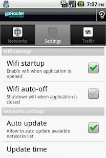 goRoute! Wifi Manager Screenshot 6
