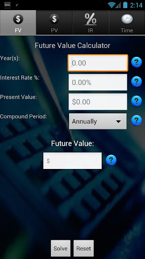 Finance TVM Calculator