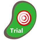 Golf Shot Tracker Pro Trial icon