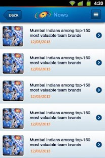 Mumbai Indians - screenshot thumbnail
