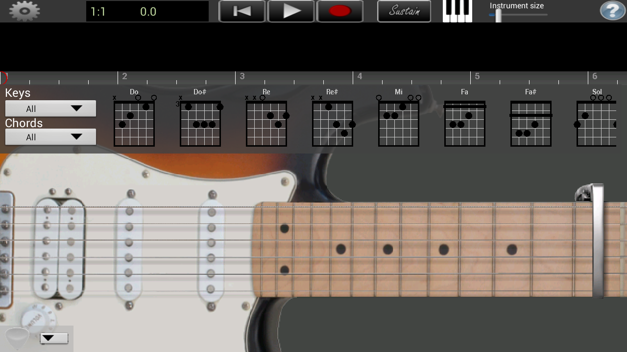 electric guitar lite android apps on google play. Black Bedroom Furniture Sets. Home Design Ideas