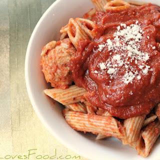 Slow Cooker Spaghetti Marinara Sauce Recipe.