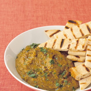 Curried Lentil Hummus.