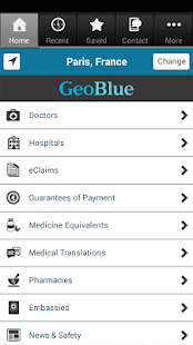 GeoBlue - screenshot thumbnail
