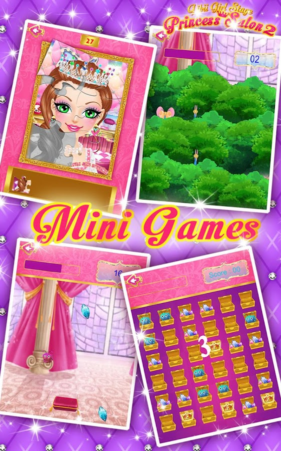 Screenshots of Princess Salon 2 for iPhone