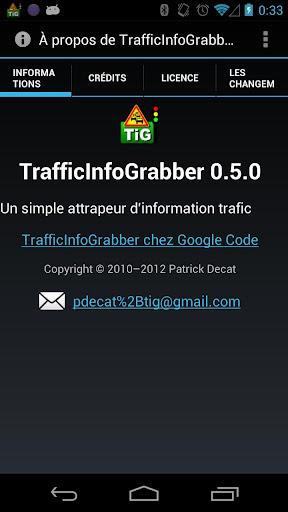 TrafficInfoGrabber  screenshots 5