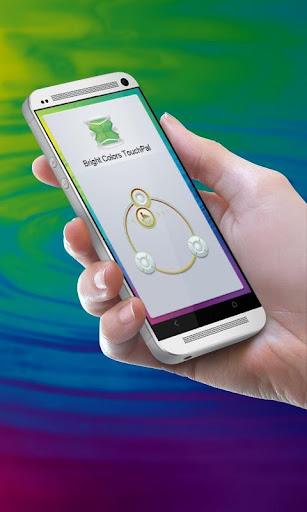 鮮豔的色彩 TouchPal 主題