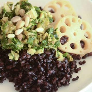 Tofu Parsley & Raisins Salad
