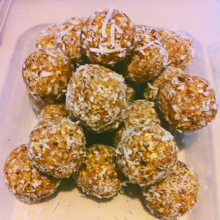 Lime and Coconut Balls.
