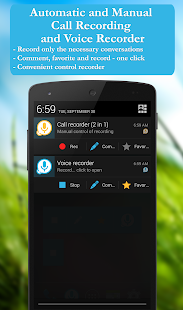 Call recorder: CallRec free Screenshot