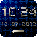 CHILLOUT Digital Clock Widget icon