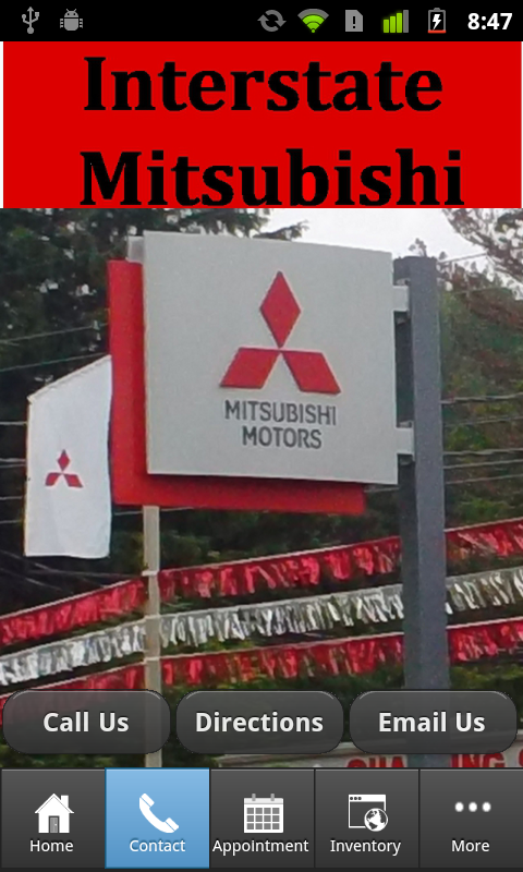 Interstate Mitsubishi Erie, PA- screenshot