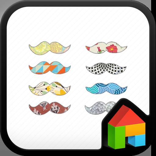 콧수염 도돌런처 테마 個人化 App LOGO-硬是要APP