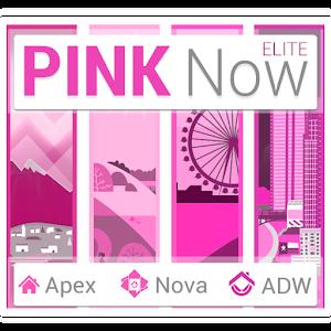 Pink Now Apex Launcher Theme 個人化 App LOGO-APP試玩