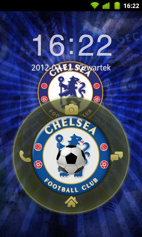 Chelsea London GO Locker Theme - screenshot