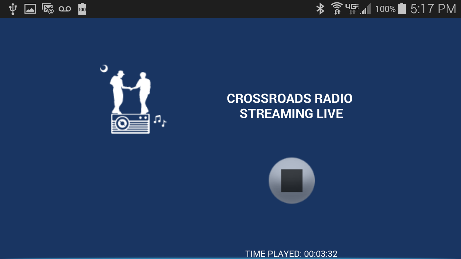 Crossroads Radio- screenshot