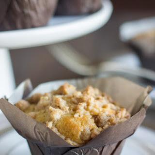 Healthier Cinnamon Oat Streusel Muffins