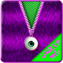 ★Purple Striped Zipper Locker★ icon