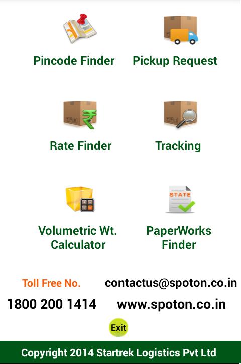 SPOTON Pickup Track -Logistics- screenshot