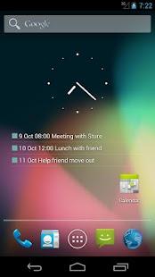 Transparent Calendar Widget - screenshot thumbnail