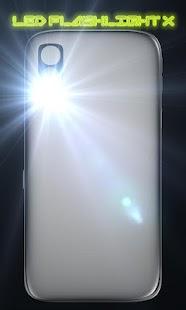 LED FlashLight X- screenshot thumbnail