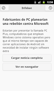 Noticias de Argentina - screenshot thumbnail