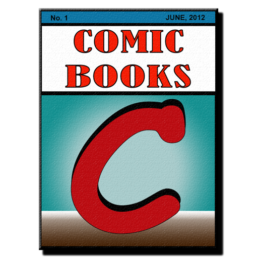 Comic Books Collector VE LOGO-APP點子
