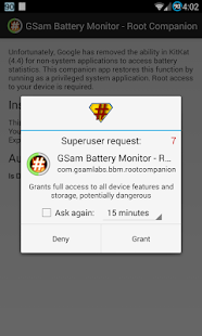 GSam Battery - Root Companion- screenshot thumbnail
