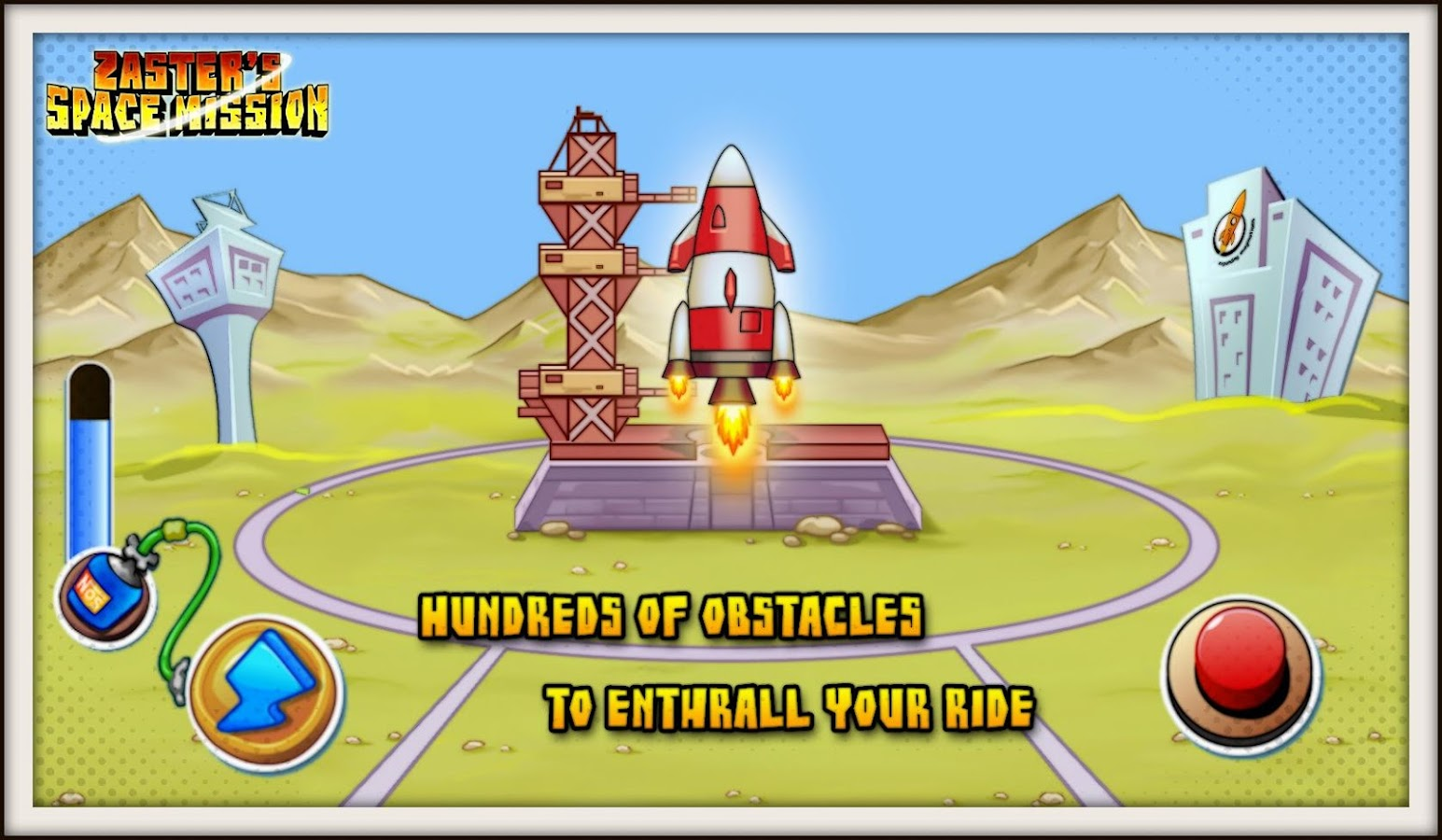 space mission rocket launch screenshot