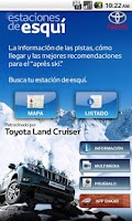 Screenshot of Estaciones de Esquí