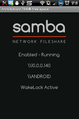 [SOFT/TUTO] SAMBA FILESHARING : Accéder à la carte mémoire de votre phone sans câble [Gratuit] KaM3c4yrXPr2lC14Zr0XQINhOzYMKQz-JZBKm_l7N4ayF-XTbX3OMbX32vCzrqXAWiI