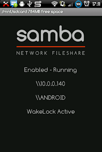 Samba Filesharing for Android - screenshot thumbnail
