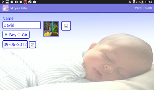 Your Baby App (baby - parents)- screenshot thumbnail
