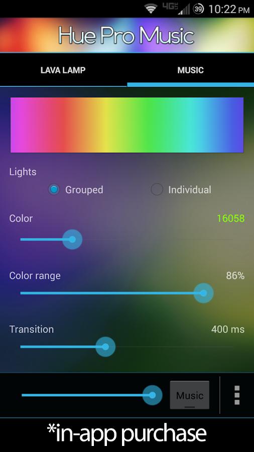 Hue Pro- screenshot