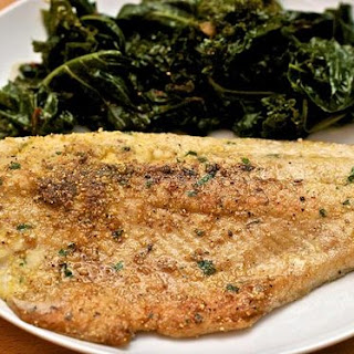 Cornmeal-Crusted Pan-Fried Trout.
