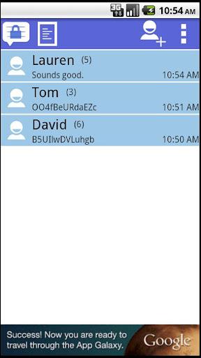 Secret Text Messenger